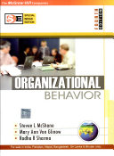 Organizational Behavior; Steven Lattimore McShane,Mary Ann Young  ; 2006