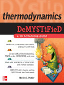 Thermodynamics DeMYSTiFied; Merle Potter ; 2009