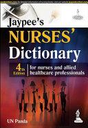 McGraw-Hill Nurse's Dictionary, Fourth Edition; U Panda ; 2015