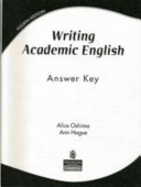 Writing academic English : answer key