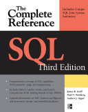 SQL The Complete Reference, 3rd Edition; James Groff,Paul Weinberg,Andy Oppel ; 2008
